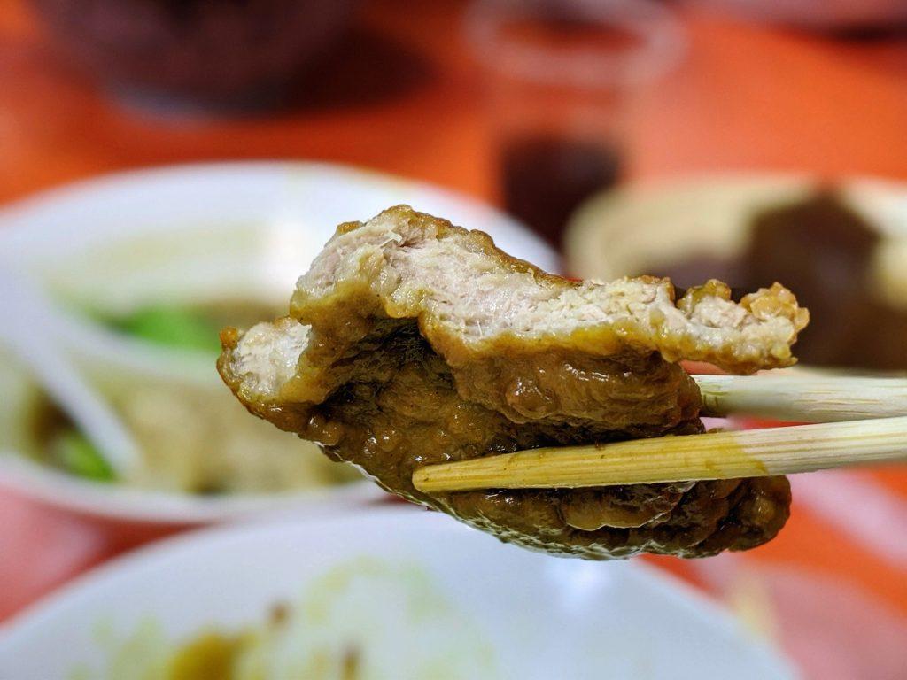 龍仔の麵紅燒豬排麵2
