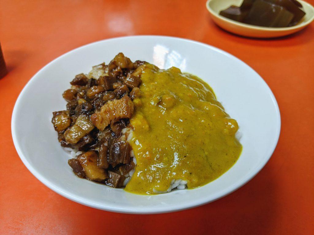 龍仔の麵鴛鴦飯