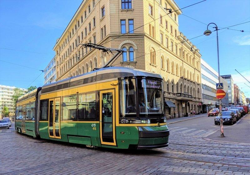 芬蘭路面電車