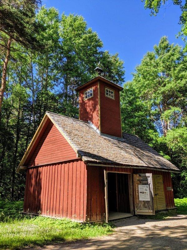 愛沙尼亞露天博物館消防站