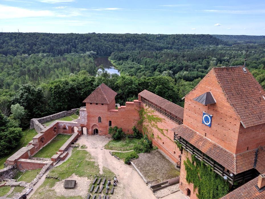 圖雷達城堡遠眺