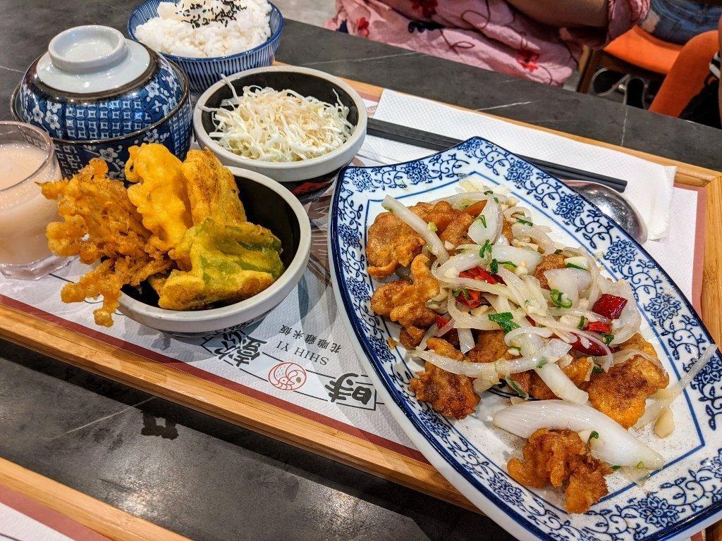 時懿花雕雞米飯-仁德家樂福店|入口即化蒜頭雞 6