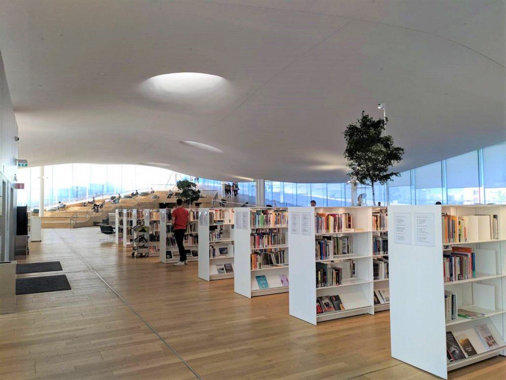 芬蘭赫爾辛基頌歌圖書館1