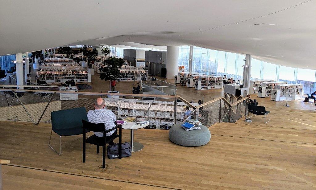 芬蘭赫爾辛基頌歌中央圖書館|北歐最美圖書館 4