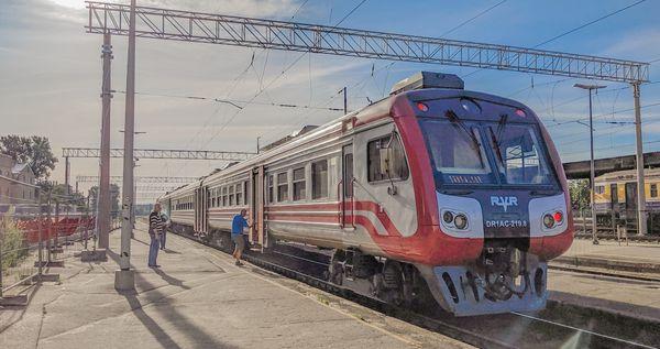 錫古爾達火車去程