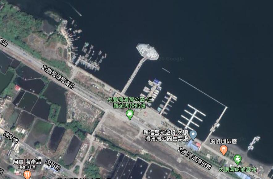 東港巨蛋地圖