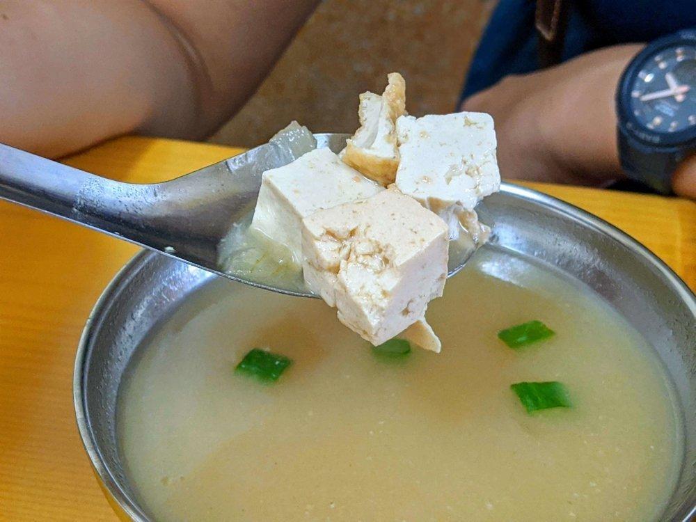 正統火雞肉飯味噌湯